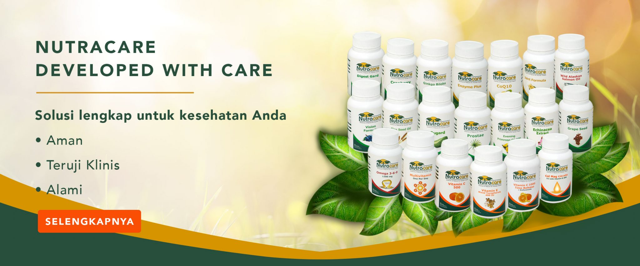 Nutracare Developed with Care